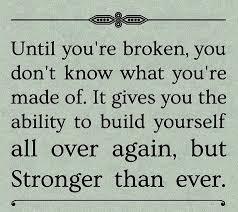after being broken